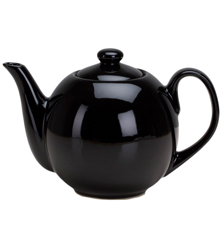 40 oz Teapot with Infuser - Black